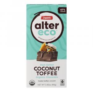 Alter Eco Organic Dark Coconut Toffee