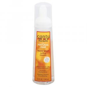 Cantu Shea Butter for Natural Hair Wave Whip Curling Mousse