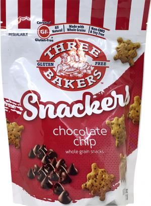 Three Bakers Gluten Free Chocolate Chip Snackers