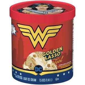 Wonder Woman Golden Lasso Twirl Light Ice Cream