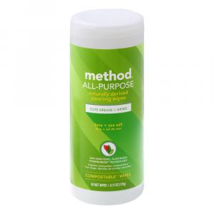 Method All Purpose Cleaning Wipes Lime & Sea Salt