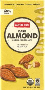 Alter Ego Chocolate Organic Dark Almond
