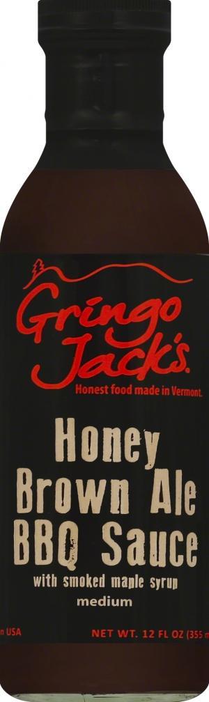 Gringo Jack's Honey Brown Ale Bbq Sauce