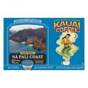 Kauai Coffee Na Pali Coast Dark Roast K-Cups