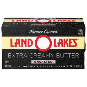 Land O Lakes European Style Butter - Unsalted