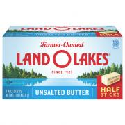 Land O Lakes Half Sticks Unsalted Sweet Butter
