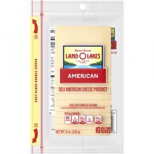 Land O Lakes Presliced White American Cheese