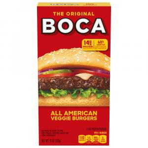 Boca All American Flame Grilled Meatless Burgers