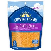 Crystal Farms Mexican Style Taco Cheese Blend
