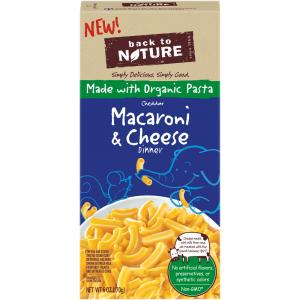 Back to Nature Elbow Cheddar Macaroni & Cheese Dinner