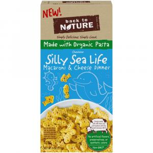 Back to Nature Silly Sea Life Cheddar Macaroni & Cheese