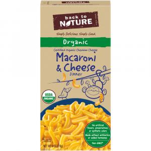 Back to Nature Macaroni & Cheese Dinner