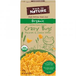 Back to Nature Crazy Bugs Macaroni & Cheese Dinner