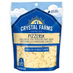 Crystal Farms Pizzeria Mozzarella & Provolone Blend