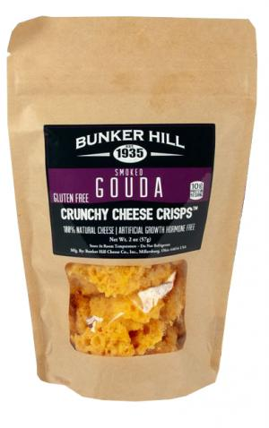 Bunker Hill Smoked Gouda Crunchy Cheese Crisps