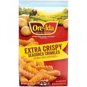 Ore-ida Extra Crispy Seasoned Crinkle Cut French Fries