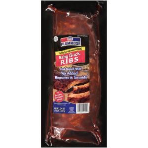 Plumrose Baby Back Pork Ribs