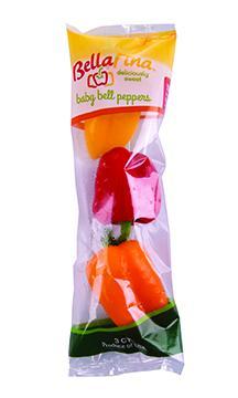 Bellafina Sweet Baby Bell Peppers