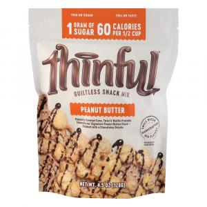 Thinful Guiltless Snack Mix Peanut Butter
