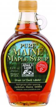 Arnold Farm Sugarhouse Organic Pure Maine Maple Syrup
