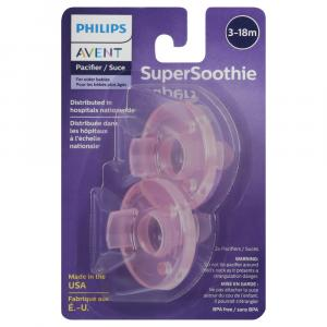 Philips Avent Super Soothie Pacifier 3+ Months