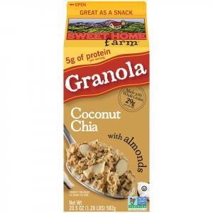 Sweet Home Farm Granola Coconut Chia With Almonds