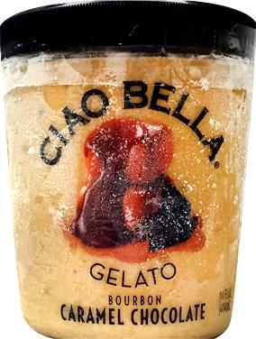 Ciao Bella Bourbon Caramel Chocolate Gelato