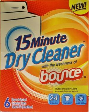 Bounce 15-minute Dryer Cleaner