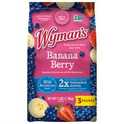 Wyman's Wild Blueberries, Strawberries & Banana Slices