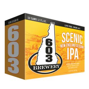 603 Brewery Scenic New England Session IPA