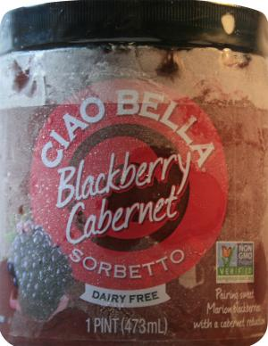 Ciao Bella Blackberry Cabernet Sorbetto