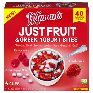 Wyman's Just Fruit & Greek Yogurt Bites
