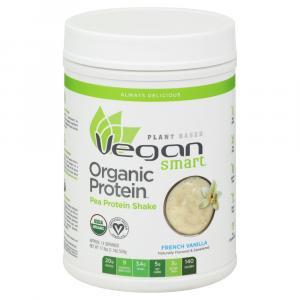 Vegan Smart Organic Pea Protein Powder French Vanilla