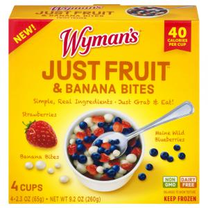 Wyman's Just Fruit & Banana Bites