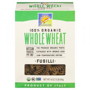 Bionaturae Organic Whole Wheat Fusilli Pasta