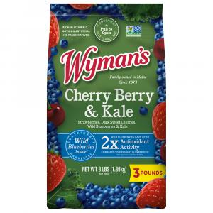 Wyman's Strawberries, Blueberries & Cherries with Kale