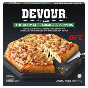 Devour The Ultimate Sausage & Peppers Pizza