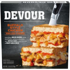 Devour Buffalo Chicken Grilled Cheese