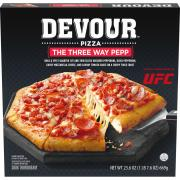Devour The Three Way Pepp Pizza