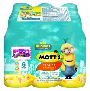 Mott's Minion Pet Juice Drink Tropical Ba-na-na-na