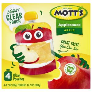 Mott's Original Applesauce Snack & Go Pouches