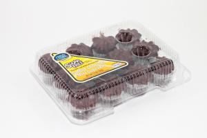 Hill & Valley Sugar Free Mini Chocolate Cupcakes