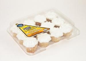 Hill & Valley Sugar Free Mini Vanilla Cupcakes
