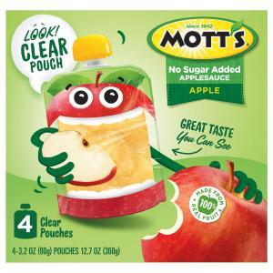 Mott's Original No Sugar Added Applesauce