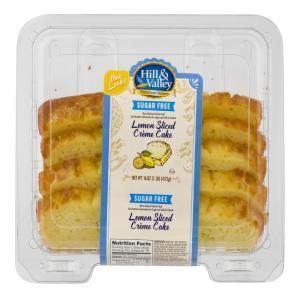 Hill & Valley Sugar Free Lemon Creme Cake
