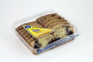 Hill & Valley No Sugar Added Blueberry creme cake