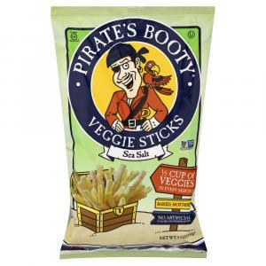 Pirate's Booty Sea Salt Veggie Sticks