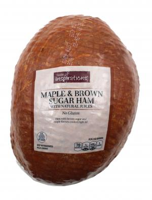 Maple Brown Sugar Ham