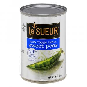 LeSueur 50% Less Sodium Green Peas