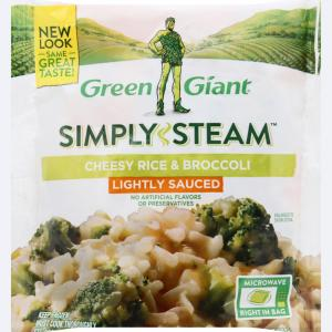 Green Giant Valley Fresh Steamers Cheesy Rice & Broccoli